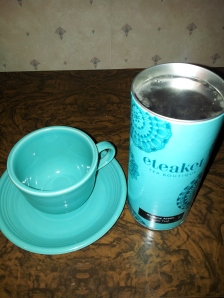 I use this cup and 'Awesome Assam' tea for divination purposes. More on this in an upcoming post! With thanks to Eteaket, Edinburgh.