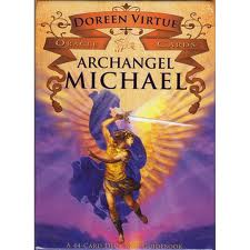 Archangel Michael Oracle Cards. Each card features a beautiful prayer.