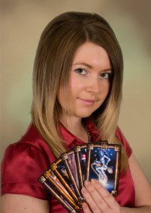 Me and my Tarot of Dreams.