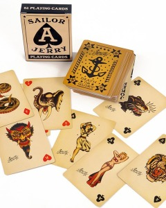 Playing cards are a pared-down version of the tarot. Playing cards are a valid tool for intuitive readings.